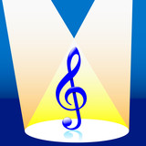 music in the spotlight poster