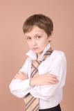 young businessman portrait poster