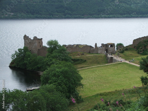 castle by the loch