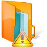 dossier triangle orange poster