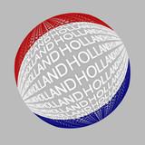 sphere holland flag poster