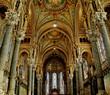 fourviere basilica nave - lyon - france