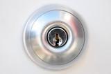 door handle with keyhole poster