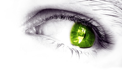 my eye (green)