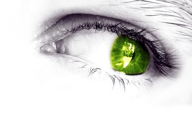 my eye (green)
