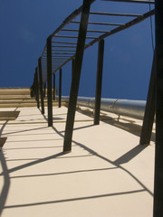 fire-escape and shadow
