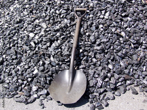 coal and shovel