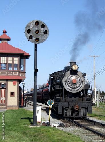 steam engine signal interlock