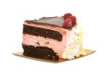 rasberry mousse cake poster