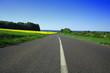 route de campagne et horizon