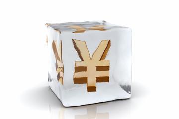 frozen yen