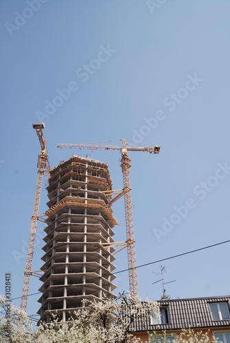 new skyscraper from ground
