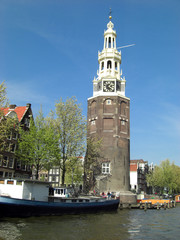 montelbaans tower in amsterdam