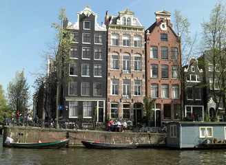 amsterdam from canal