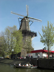 windmill in amsterdam