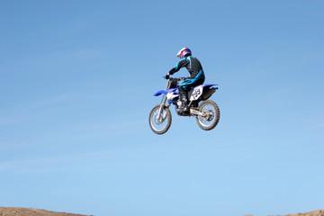 dirt bike airborne