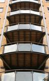 apartment balconies poster