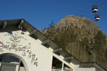 ski lodge vista