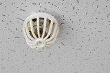 fire detector on ceiling poster
