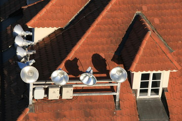 czech rooftop lights