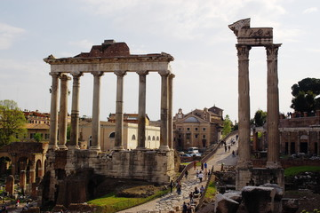 roman forum runies