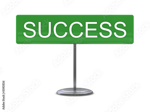 sign - success