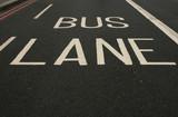 bus lane poster