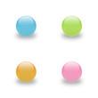 kugeln buttons glas