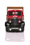 old delivery truck front poster