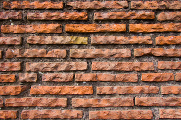 texture, red and grey brick wall