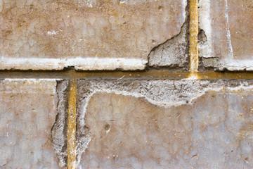 close-up image, grey brick wal