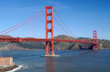 golden gate bridge from fort point viewpoint poster