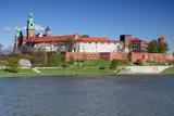 Wawel - Zamek Królewski nad Wisłą w Krakowie (Polska)