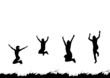 Leinwanddruck Bild - happy people