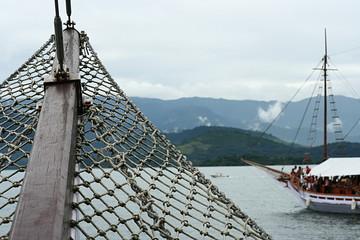 sailing between islands