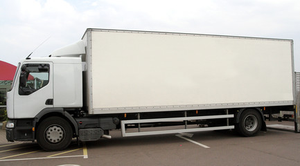 white lorry