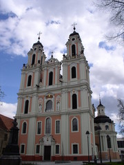a church in vilnius