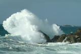 Fototapety tempête en mer