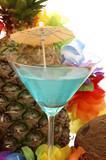 blue hawaiian poster