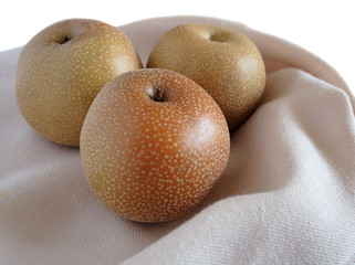 three asian pears