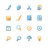 contour publish icons poster