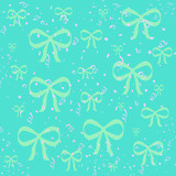 bows gift wrap poster