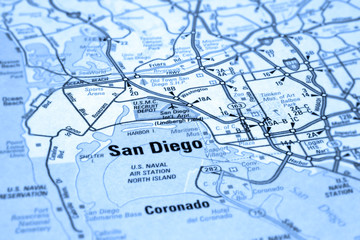 map of san diego