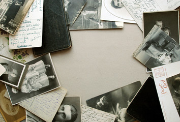 vintage photos and postcards