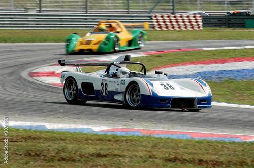 Foto op Plexiglas Motorsport racing cars at the track