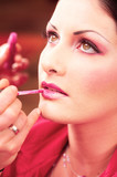 makeup and beauty treatment poster