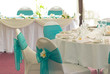 wedding reception display