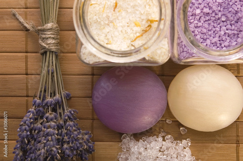lavender bath items. aromatherapy - 3086071
