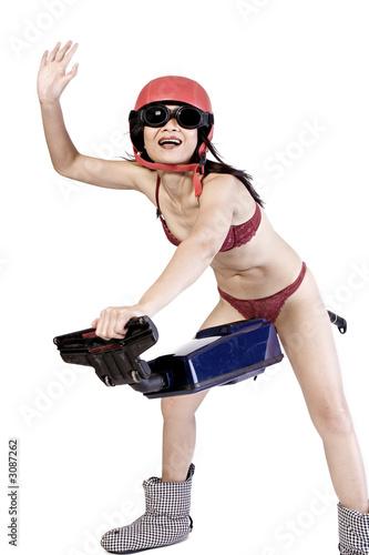 poster of vacuum cleaner fun