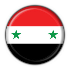 bottone bandiera siria - syria button flag